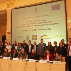PP2 and PP3 Joint kick-off workshop, Budapest