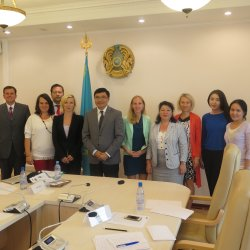 Objective 2: Knowledge base – Expert mission to Kazakhstan, Astana,  August 2015